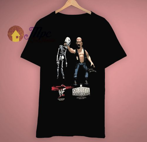 Celebrity Death Match Steve Austin Mtv T Shirt