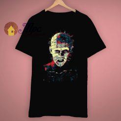 Raise Hell as Pinhead Horror Movie T Shirt