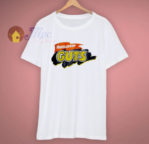 Cool Nickelodeon Guts 90s T Shirt