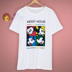 Mickey Art Mouse Pop 90s T Shirt