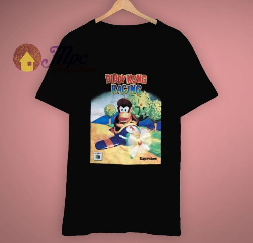 Vintage Diddy Kong Racing T Shirt