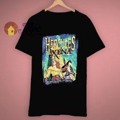 Vintage Disneys Hercules Xena T Shirt