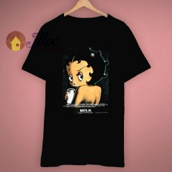 Awesome Betty Boop Got Milk T Shirt