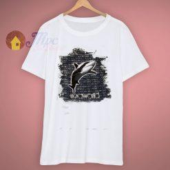 Light Blue New Sea World Great Shark T Shirt