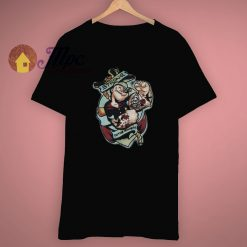 Anchor Popeye The Sailor Man T Shirt