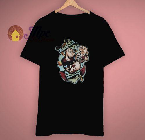 Anchor Popeye The Sailor Man T Shirt