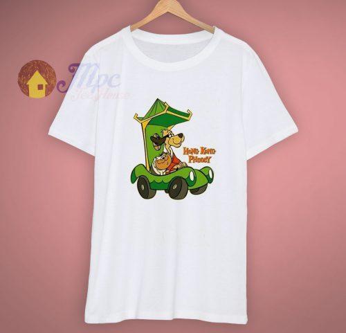 Cartoon Hong Kong Phooey Cotton Graphic T Shirt