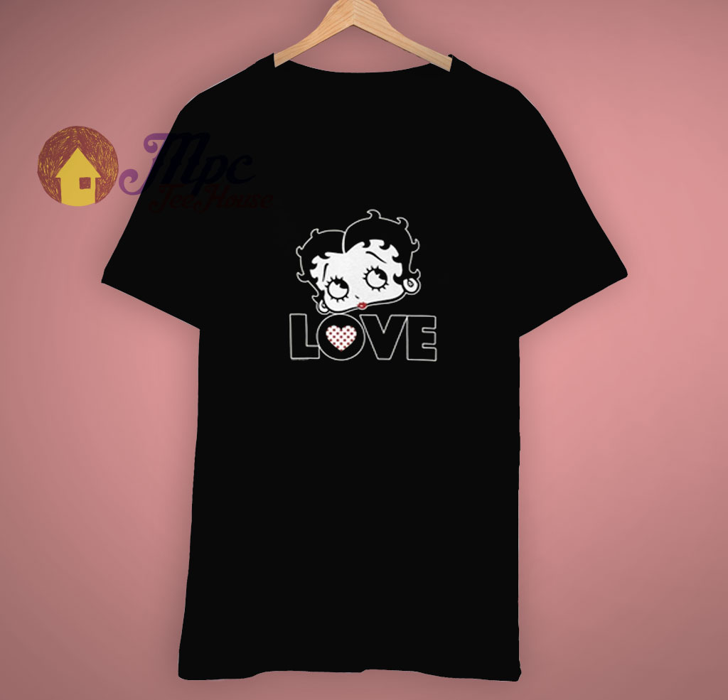 Cartoon Retro Gift Betty Boop T Shirt