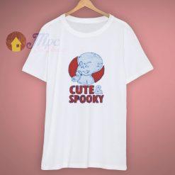 Friendly Ghost Casper Cute Spooky T Shirt