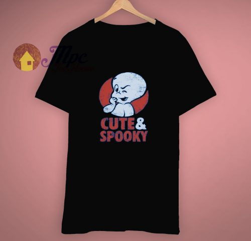 Ghost Casper Cute Spooky T Shirt