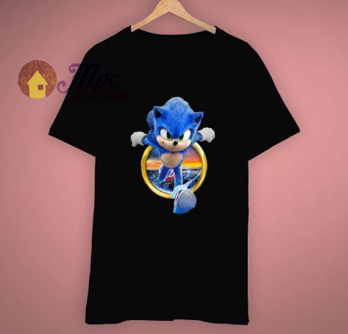Sonic The Hedgehog Sega Video Game Cartoon T Shirt
