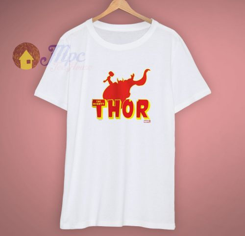 Thor Red CafePress Silhouette White T Shirt
