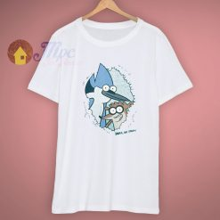 Animated Regular Show Eyes Spy T Shirt