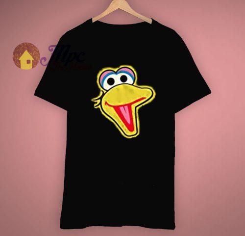 Big Bird Face Sesame Street T Shirt