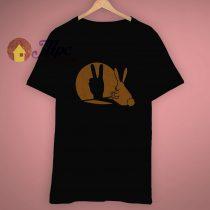Bunny Rabbit Shadow Puppet Funny T Shirt