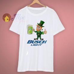 Busch Light Leprechaun Drink Beer T Shirt