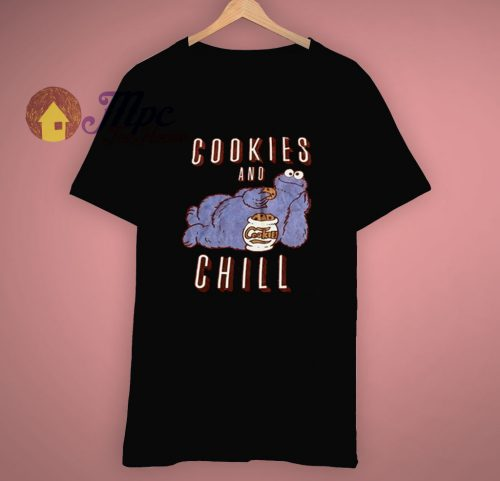Cookies and Chill Sesame Street T Shirt