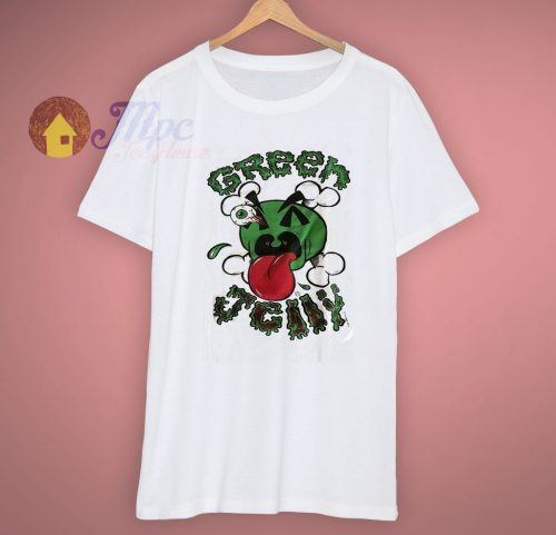 Cotton Jerzees Green Jelly Rock Band T Shirt