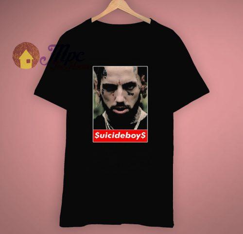 Hip Hop Rap Personality Suicideboys T Shirt