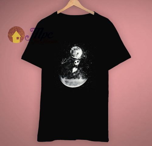 Jack Skellington Moon The Nightmare T Shirt
