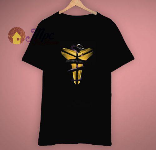 Kobe Black Mamba Snake Lakers T Shirt