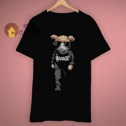 Match Yeezy Black Savage Bear T Shirt