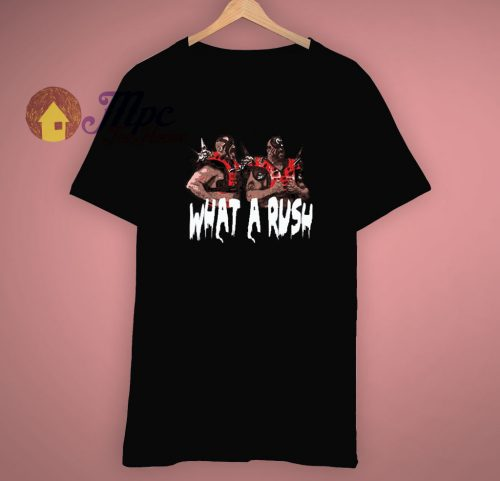 Old School Road Warriors What A Rush T Shirt