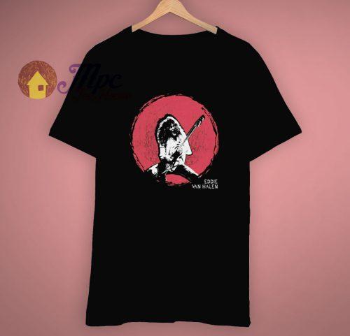 Rock Music Guitarist Eddie Van Halen T Shirt