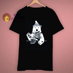 Snowboard Alaska Polar Bear Colorado Beer T Shirt