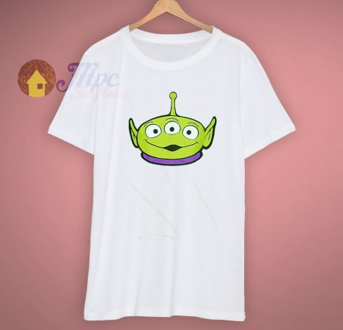 Toy Story Pizza Disney Pixar Alien Face T Shirt
