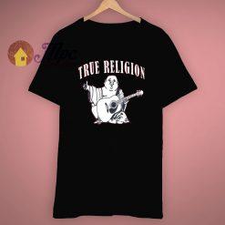 True Religion Buddha Logo T Shir