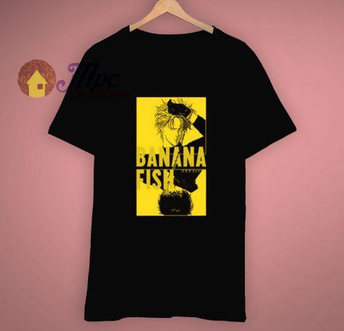 Banana Fish Anime Cosplay T Shirt