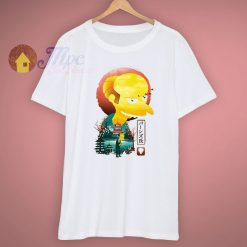 Cartoons Mr Burns Ukiyo E T Shirt