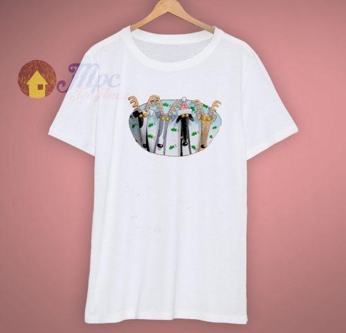 Christmas Greyhound Antlers T Shirt