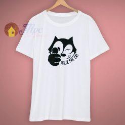Felix The Cat Happy Cartoon T Shirt
