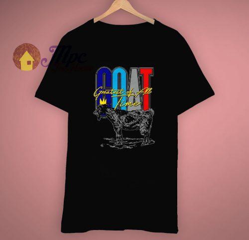 Graphic Collection Goat Aqua T Shirt
