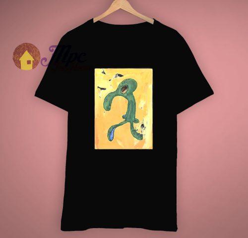 Graphic Spongebob Art Squidward T Shirt