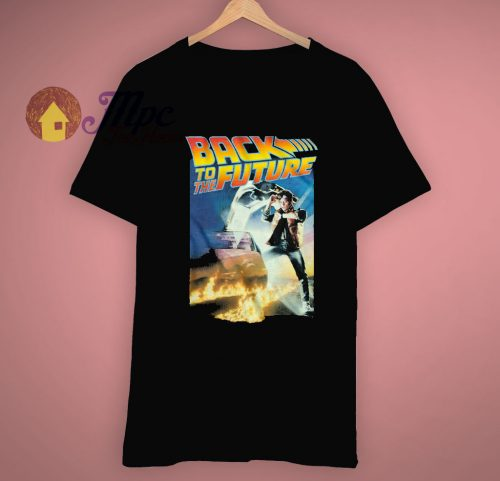 Poster Back To The Future Movie T Shirt