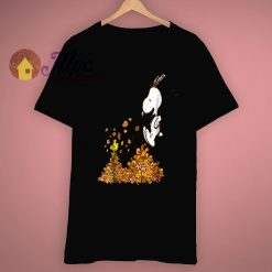 Snoopy Charlie Brown Peanuts Thanksgiving T Shirt