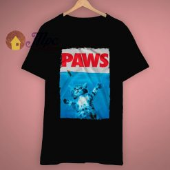 Paws Cat Mouse Funny Lover T Shirt