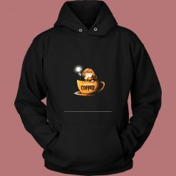 Accio Coffee Cute Wizard In A Coffee Cup Harry Potter Vintage Hoodie