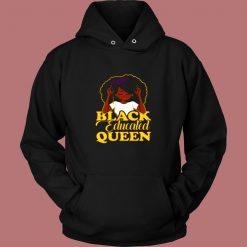 Black Educated Queen Vintage Hoodie