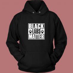 Black Labs Matter Vintage Hoodie