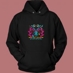 Follow Me Into The Void Vintage Hoodie