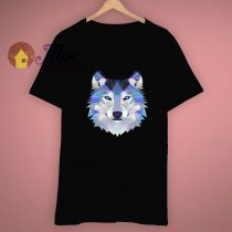 Funny The Wolf Face Animals T Shirt