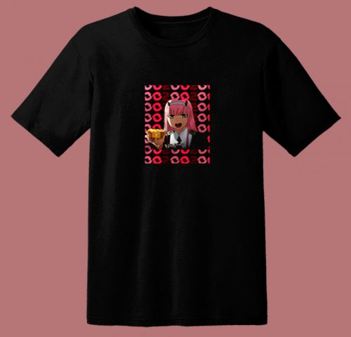 002 Darling In The Franxx 80s T Shirt
