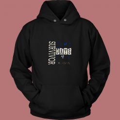 100 Days Of School Ms Paxton 80s Hoodie