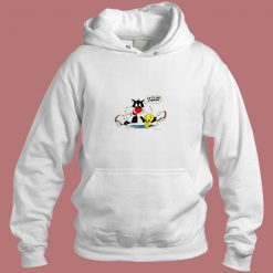 1988 Vintage Looney Tunes Lets Do Lunch Aesthetic Hoodie Style