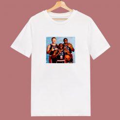 1992 Olympic Dream Team Larry Bird Michael Jordan Ervin Magic Johnson 80s T Shirt