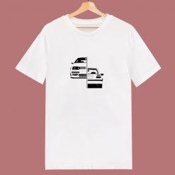 1998 Golf Gti Vr6 Mk3 Lines Volkswagen 80s T Shirt